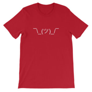 Shrug Emoji T-Shirt